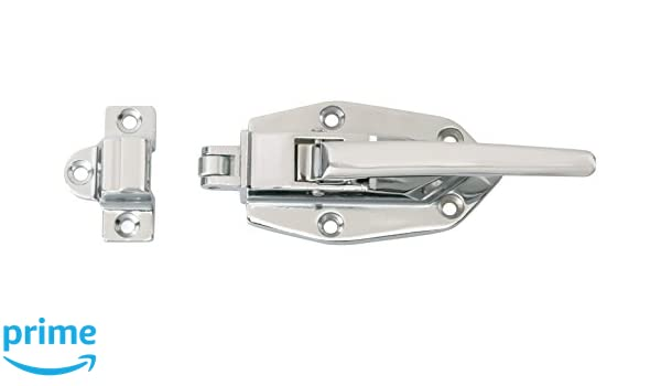 Richelieu Hardware BP857398140 Clic Metal Ice Box Latch, 4.91 ... on ice chest hinges and latches, bed cabinet, electric cabinet, bar cabinet,