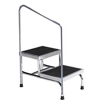Fine Amazon Com Moore Medical Heavy Duty Two Step Step Stool Ibusinesslaw Wood Chair Design Ideas Ibusinesslaworg
