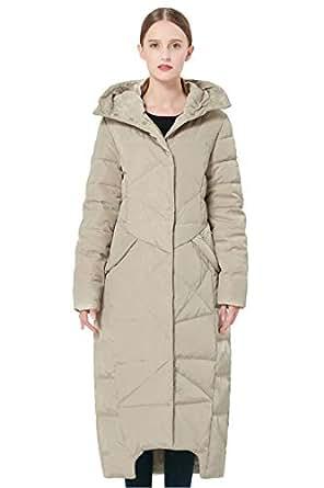 Amazon.com: Orolay Women's Puffer Down Coat Winter Maxi