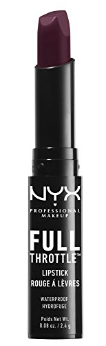 - NYX Cosmetics Full Throttle Lipstick Night Crawler