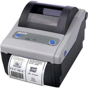 (Sato WWCG12041 Series CG4 Thermal Desktop Printer, 305 dpi Resolution, 4 IPS Print Speed, USB/LAN Interface, DT, 4.1