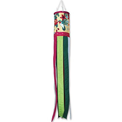 Wind Sock Costume (Premier Kites Wind Garden Brilliance Windsock - Hummingbird and Fuchsia)