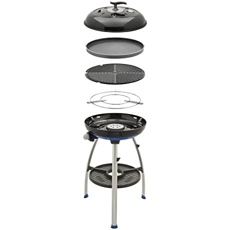 Cadac 8910 40 Carri Chef 2 Outdoor Grill With Pot Stand Barbeque Grid And Chef Pan