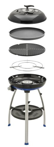 Cadac 8910-40 Carri Chef 2 Outdoor Grill with Pot Stand, Barbeque Grid and Chef Pan (Dome Grill Gas)