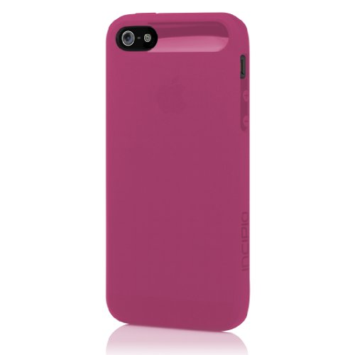 Incipio iPhone 5 5S SE Case, NGP [Flexible TPU] Authentic Shockproof Ultra-Thin Slim Cover - Translucent Orchid Pink - Translucent Orchid