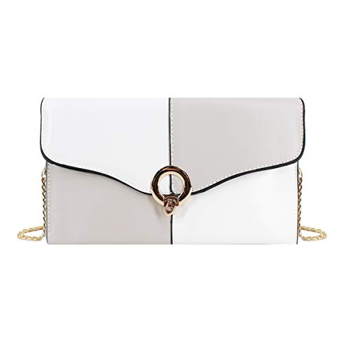 Ladies Body Purse Women Evening Goodbag Gray Bag PU Clutch Light Wristlet large Envelope Boutique leather Cross Bag wFROn5R8zq