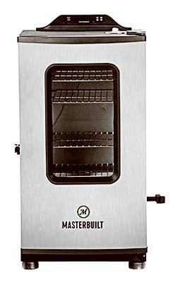 Masterbuilt MB20073119 Mes 130g Bluetooth Digital Electric Smoker, Black ()