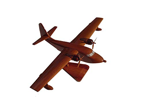 Grumman HU-16 Albatross aircraft Mahogany Wood Desktop Airplane Model from Tesaut Desktop Models