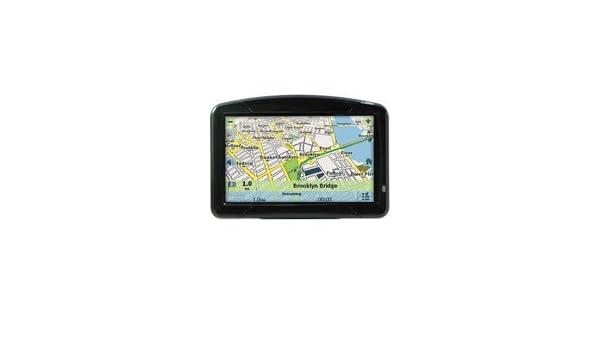 Omnitech Portable GPS Sistema de navegación pantalla táctil LCD TFT de 4,3