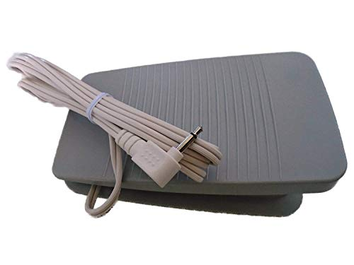 NGOSEW FOOT CONTROL PEDAL works with BROTHER SE350 SE400 SQ900 XR4040 XR6600 XR7700 XR9000 # (Foot Control Pedal)