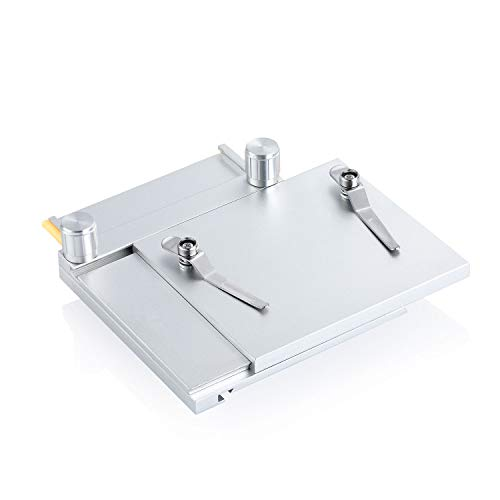 X-Y Gliding Table - Manual Stage for Microscope - Lightweight Portable Adjustable Stand for Digital Handheld Microscope