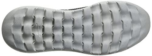 Skechers Men's Go Walk Max-Athletic Air Mesh Slip on Walkking Shoe Sneaker,Charcoal,8.5 M US