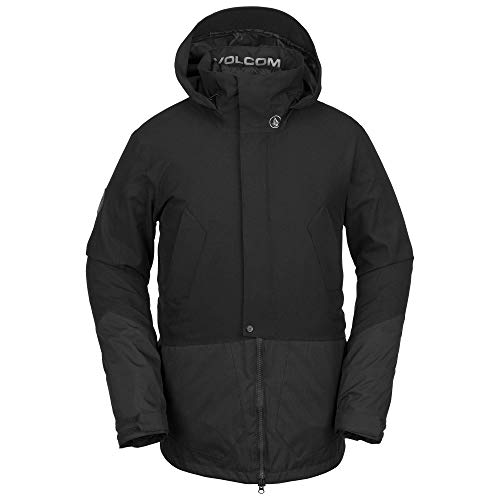 Face Volcom - Volcom Men's Pat Moore 3-in-1 2 Layer Stretch Snow Jacket Black