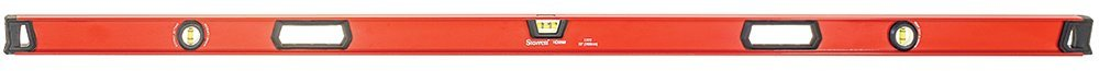 Starrett Exact KLIX72-N Aluminum I-beam Level with 3 Plastic 360° Vials, 72'' Length