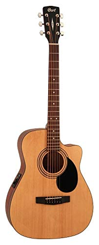 Cort Standard Series AF515 Acoustic/Electric Cutaway, Open Pore Finish by Cort