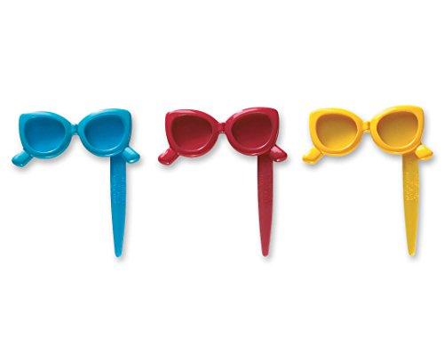CakePicke cake cupcake topper Sunglasses Cupcake Picks ()
