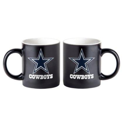 Dallas Cowboys 14oz Matte Black (Dallas Cowboys Black Coffee Mug)