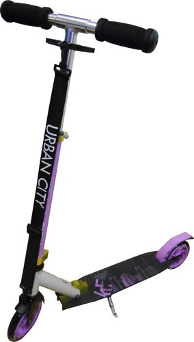 KRF Urban City - Patinete clásicos, Color Violeta, Talla 145 ...