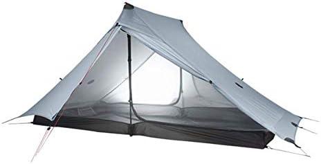 テント HCGS キャンプ テント 2人の屋外ウルトラライトキャンプ3シーズンプロフェッショナル20dナイロン両面シリコン