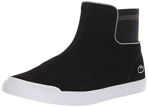 Lacoste Women's Lancelle Chelsea Boot, Black/Dark Grey, 8 Medium US