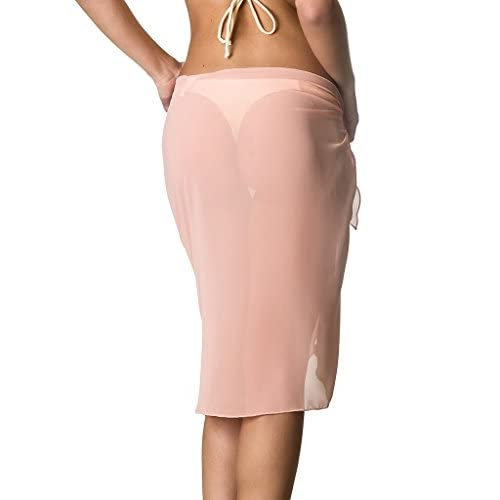 439c464450b8b THE MESH KING COQUETA Swimwear Womens Chiffon Cover up Beach Sarong Pareo  Canga Swimsuit Wrap hot