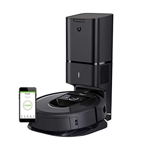 Roomba i7+ (Advanced navigation + auto-emptying)