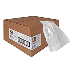 Hexene Clear Trash Can Liner (Super Hexene Clear Trash Can Liners, Clear Type/Quantity: 55-60 Gallon, .8Mil, 38