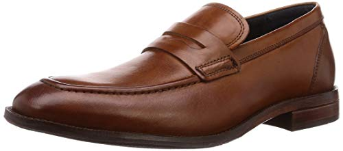 - Cole Haan Men's Wagner Grand Penny Loafer, British tan, 12 M US