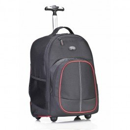 e72970e1b254 Targus 16-inch Compact Rolling TSB75001AP Laptop Backpack (Black/Red)