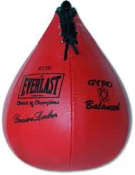 "Everlast 4214 Leather Speed Bag (Small, 10""x7"")"