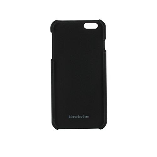 Mercedes-Benz Pure Line Coque en cuir avec porte-cartes pour iPhone 6 Plus/6S Plus Noir
