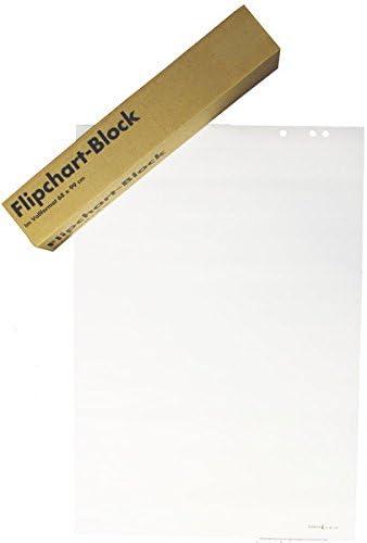 Büroring Flipchartblock 68x99cm blanko/blanko