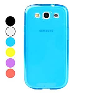 Simple Style Soft TPU Case for Samsung Galaxy S3 I9300 (Assorted Colors) , Red