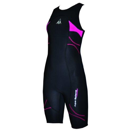 Aqua Sphere Womens/Ladies Energize Compression Speedsuit (4 US) (Black/Pink)