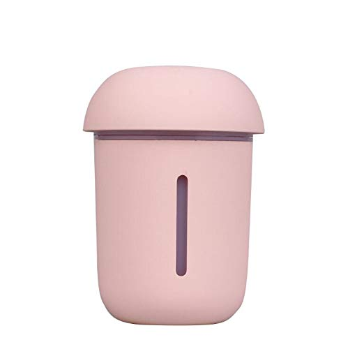 Price comparison product image GAX Humidifier Suitable for Office Use,  Portable Mini USB Humidifier,  Fast Humidification,  Large Amount of Smoke, Pink
