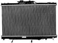 TYC 2198 Toyota/Chevrolet 1-Row Plastic Aluminum Replacement Radiator ()