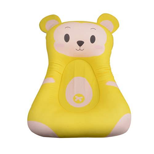 STOBOK Alfombra de baño para bebé Almohadilla Suave Antideslizante para bañera de bebé cojín de Ducha Antideslizante...