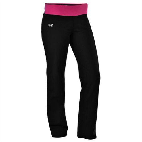 Under Armour Women's UA DFO Semi-Fitted Yoga Pant (Small, Black/ Dark - Dfo Shop