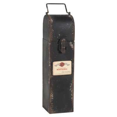 Metal Wine Box by Wilco