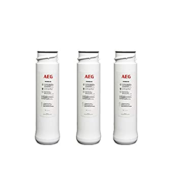 Image of AEG Reverse Osmosis, Pack of 3 Membranes Provides over 3 Years of Ultrafiltration Tap. Water Osmosis Compatible Replacement Under-Sink Water Filters