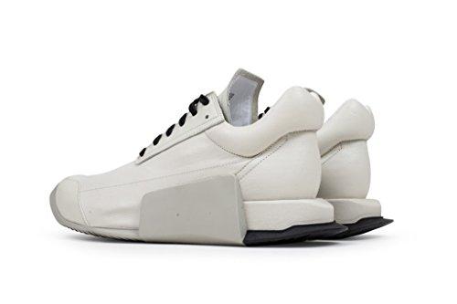 Adidas X Rick Owens Uomo Livello Runner Basso (bianco / Ro Latte / Ro Dinge / Ro Nero)