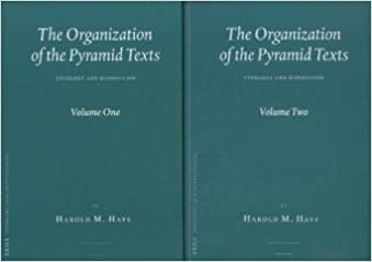 Book The Organization of the Pyramid Texts (2 Vol. Set): Typology and Disposition (Probleme Der Gyptologie)