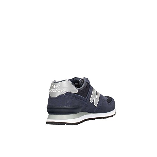 Tomaia Nbm574nbu Mod Colore Mesh Blu Uomo Balance E Suede Scarpe Da New FIXwqn8T
