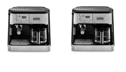 45bb3dfbf35 Amazon.com  DeLonghi BCO430 Combination Pump Espresso and 10-cup Drip Coffee  Machine with Frothing Wand