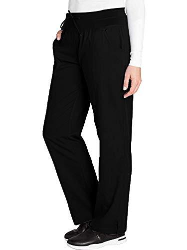 Women's Comfy Clinic Anatomy Active Drawstring Yoga Scrub PantBlack Size S