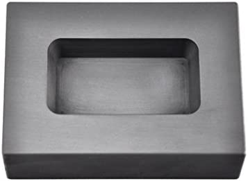 10 oz Troy Ounce Rectangle Gold Graphite Ingot Mold for Melting Casting Refining Scrap Jewelry