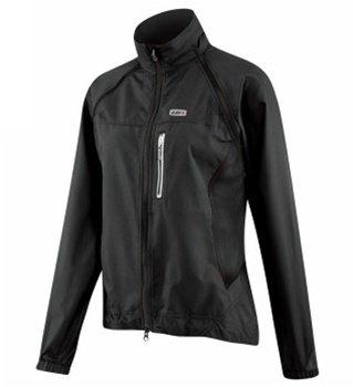 Louis Womens Jacket (Louis Garneau Electra Jacket - Women's Black, M)