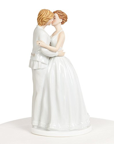 Wedding Collectibles Romance Gay Lesbian Wedding Cake Topper (Romance Cake Topper)