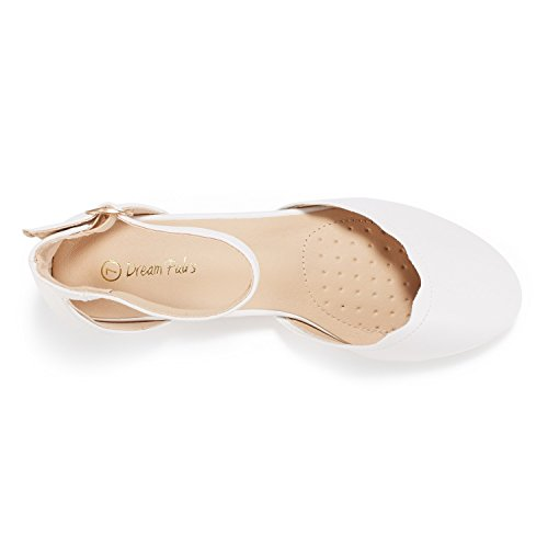Sole PAIRS Shoes Flats Vogue Women's Pu White DREAM w1pgTqvng