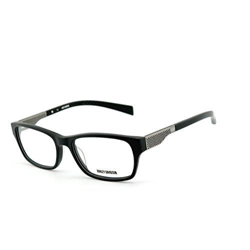 114a885bef Outlet Harley-Davidson - Montura de gafas - para hombre multicolor Schwarz,  Chrom /